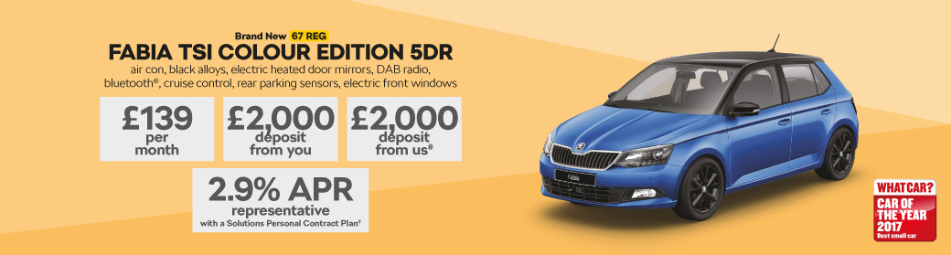 Brand New FABIA TSI COLOUR EDITION 5DR