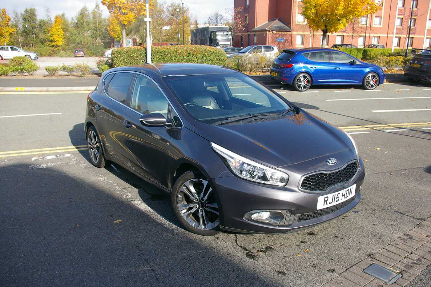2015 Silver Kia Cee'd Hatchback 5-Door 1.6 CRDi, Diesel, Manual