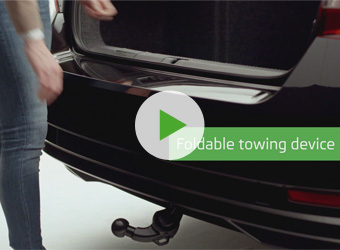 Foldable Towing Device