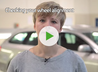 Checking your vehicle alignment
